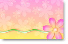 Pink Flowers - background