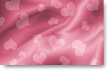 Pink Silk Hearts - background
