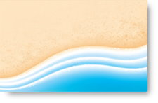 Sea Sand and Waves - background