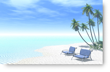 Tropical Beach - background