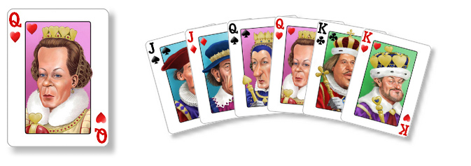 New Caricatures Card Set!