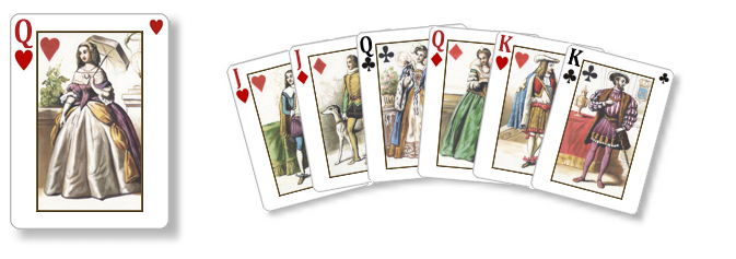 Kings of France - SolSuite 2015 New Card Set