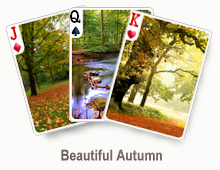 Beautiful Autumn - card set