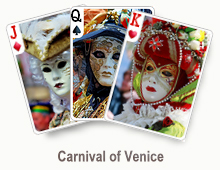 Carnival of Venice - card set