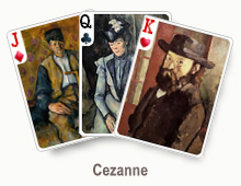 Cezanne - card set