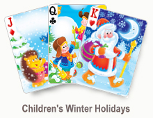 Children's Winter Holidays - card set