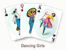 Dancing Girls - card set