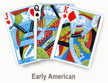 Early American - card set