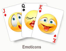 Emoticons - card set