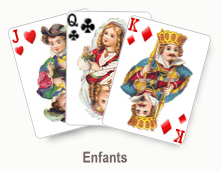 Enfants - card set