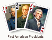 First American Presidents - card set