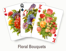 Floral Bouquets - card set