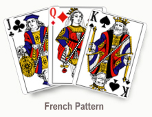 French Pattern - card set