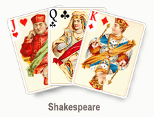 Shakespeare - card set