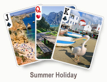 Summer Holiday - card set
