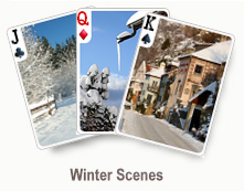 Winter Scenes - card set