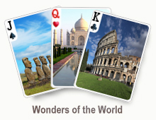 Wonders of the World - card set