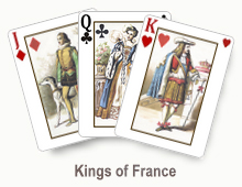 Kings of France - card set