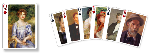 New Renoir card set!