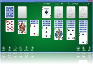 SolSuite Solitaire - New Windows 10 toolbar