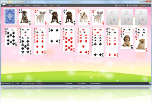 Forty Thieves Solitaire - Click here to enlarge