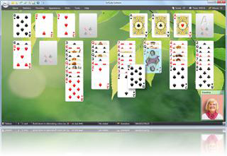 SolSuite FreeCell screenshot