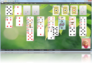FreeCell Solitaire - Click here to enlarge