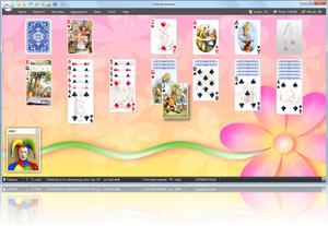 Klondike Solitaire - Click here to enlarge