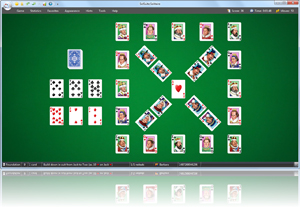 Knaves Solitaire - Click here to enlarge