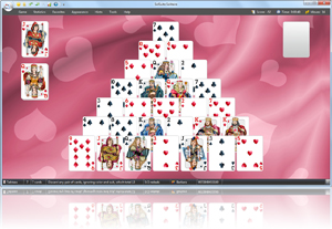 Pyramid Solitaire - Click here to enlarge